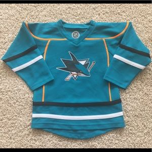NEW San Jose Sharks toddler hockey jersey